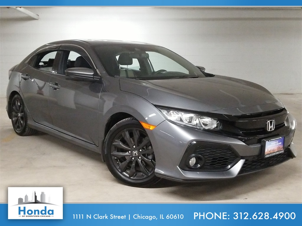 Certified Pre-Owned 2018 Honda Civic EX-L