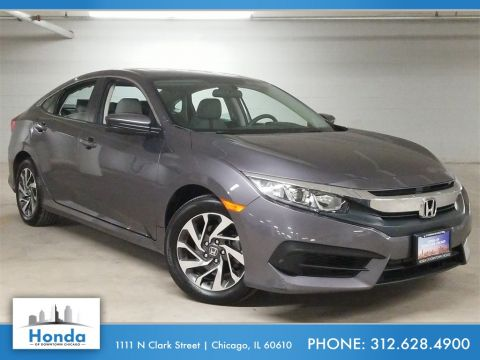 Certified Pre-Owned 2017 Honda Civic EX