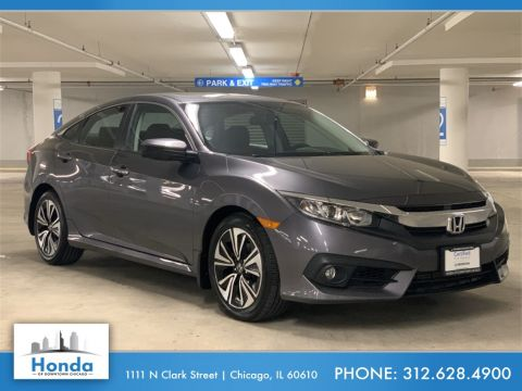 Certified Pre-Owned 2016 Honda Civic EX-T